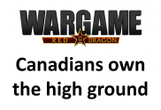 canadians own the high ground
