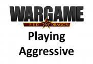 playing aggressive